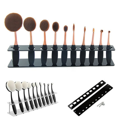 10 Pcs Makeup Brush Holder