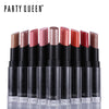 Party Queen Pop Lipstick - 12 Luxury Long Lasting Bold Color