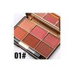 Miss Rose Professional Blush Pallet - Long Lasting 6 Color Mineral Powder