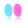 Silicone Gel Sponge for Foundation, BB Cream and Blending - Pink/Blue/Clear