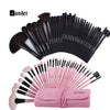 VANDER 32pcs Professional Cosmetics Brush Set + Carry Case