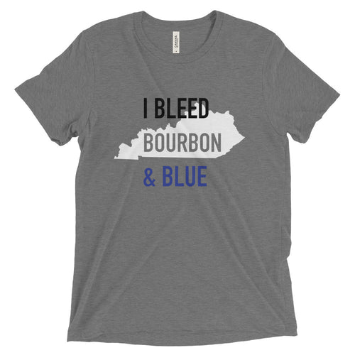 I Bleed Bourbon & Blue T-Shirt