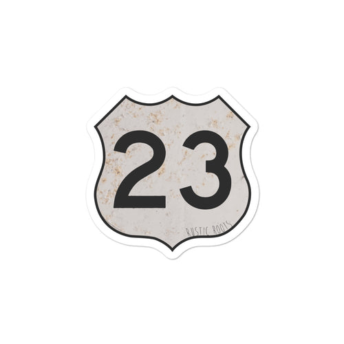 US 23 Sticker