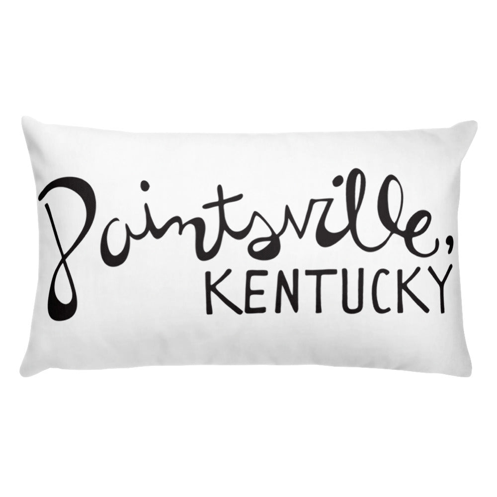 Paintsville Hometown Pillow