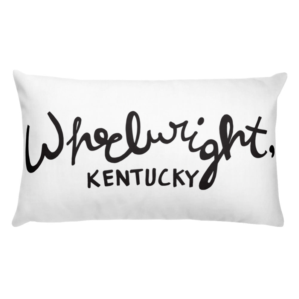 Wheelright Hometown Pillow