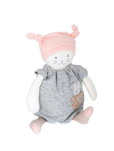Moulin Roty Les Petits Dodos Moon Musical Cat
