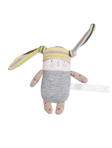 Moulin Roty Les Petits Dodos Nin-Nin Rabbit Small Rattle