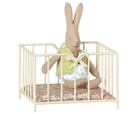maileg playpen micro off-white