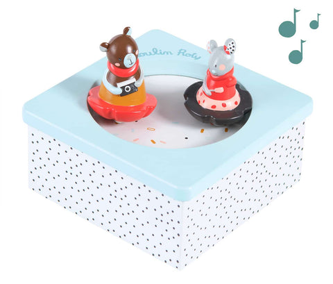 moulin roty les jolis trop beaux music box - out is stock