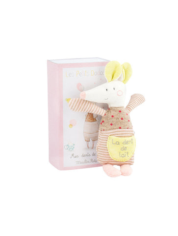 Moulin Roty Les Petits Dodos Milk Tooth Mouse In A Box