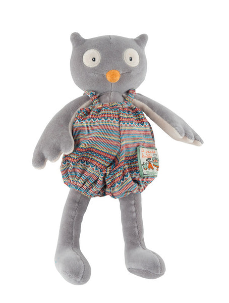 moulin roty la grande famille isidore the owl 30cm