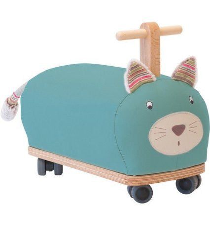 moulin roty les pachats ride on cat - sold out
