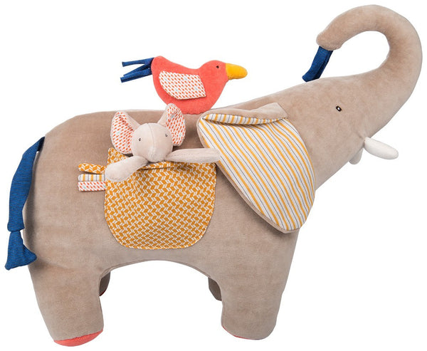 moulin roty les papoum activity elephant