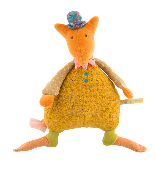 Moulin Roty Les Tartempois musical fox doll