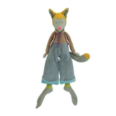 Moulin Roty Les Tartempois Poupee loup Wolf Doll