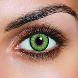 Dual Colour Green Contact Lenses (Pair)