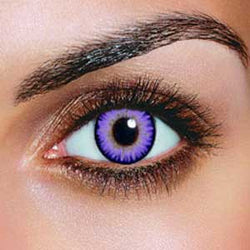 Dual Colour Violet Contact Lenses (Pair)