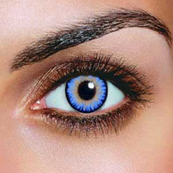 Triple Colour Aqua Contact Lenses (Pair)