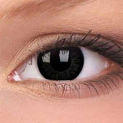 Big Eye Contact Lenses with Brown Tint (Pair)
