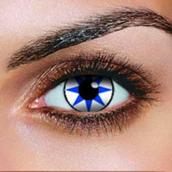 Blue Star Contact Lenses (Pair)
