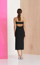 Bec & Bridge Amelie Panel Black Dress Size 10