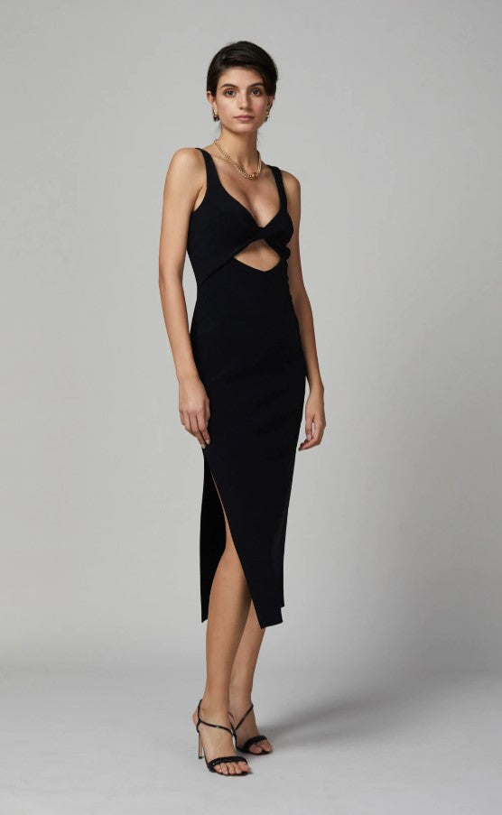 Bec & Bridge Joelle Midi Dress Black