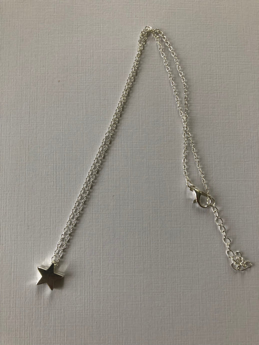 Mia Star Necklace - Silver