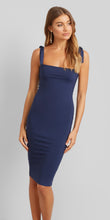 Kookai Hazel Navy Tie Dress
