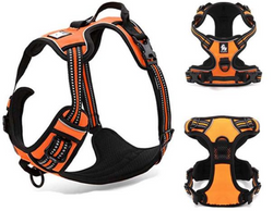 Reflective Nylon Harness with Breathable Padded Mesh