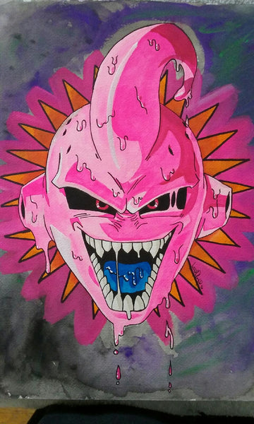 Dragon Ball Z Buu - Grimm Artworks x Viberaider