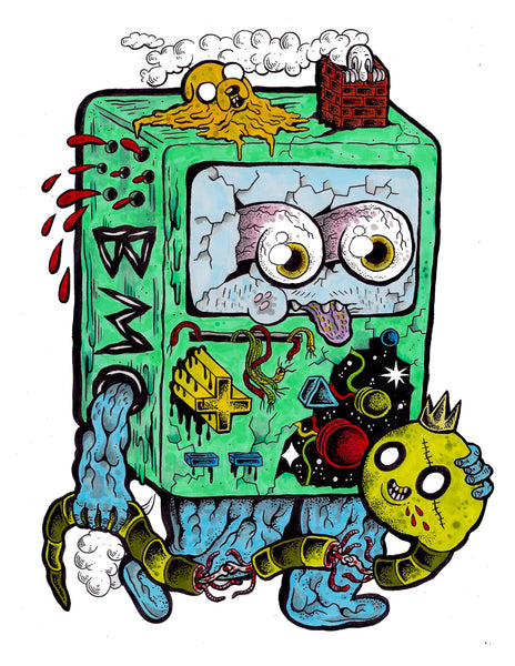 BMO Adventure Time - Wooden Cyclops x Viberaider