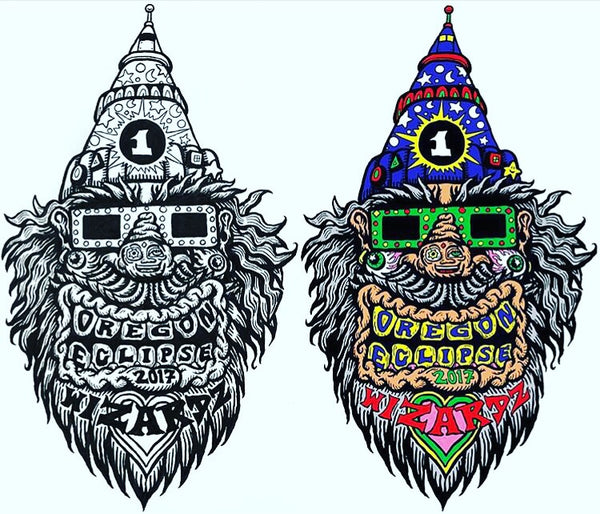 Oregon Eclipse 2017 Wizardz - Chris Dyer x Viberaider