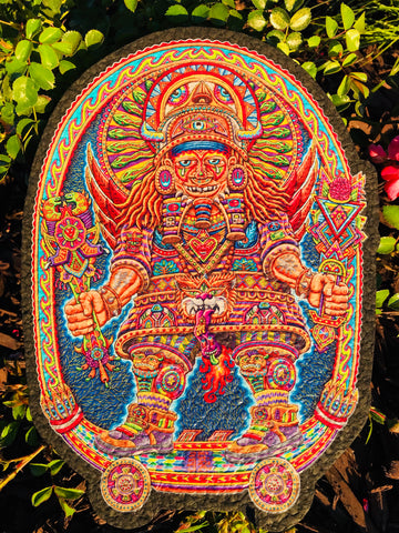 Ultimate Spiritual Warrior Moodmat - Chris Dyer x Viberaider