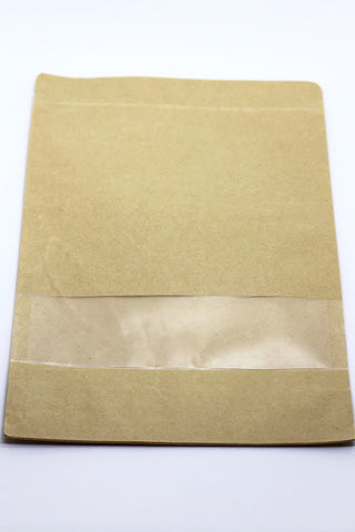 PAPER BAGS - Zip Locked - Large