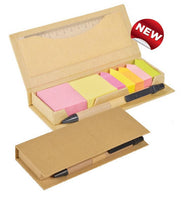 Eco Memo Box with Ruler & Pen