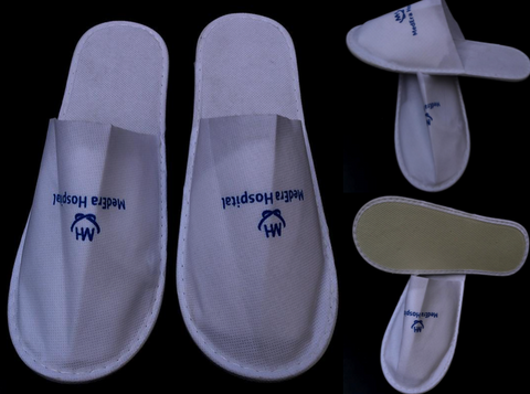 SLIPPERS - (Closed Toe) - Non Woven