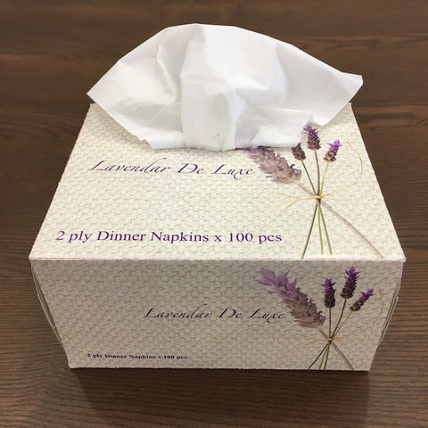 TISSUE BOX (With Tissue Paper)- Paper (Square)