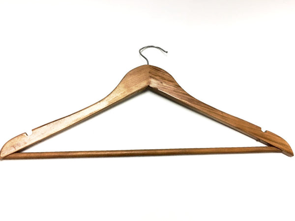 HANGERS - Wood(Male - No Clips)