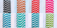 STRAWS - Biodegradable Spiral Paper Straws 7.5 Inch Malaysia Supplier