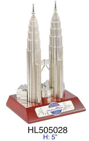 "5"" KLCC with Wooden Base"