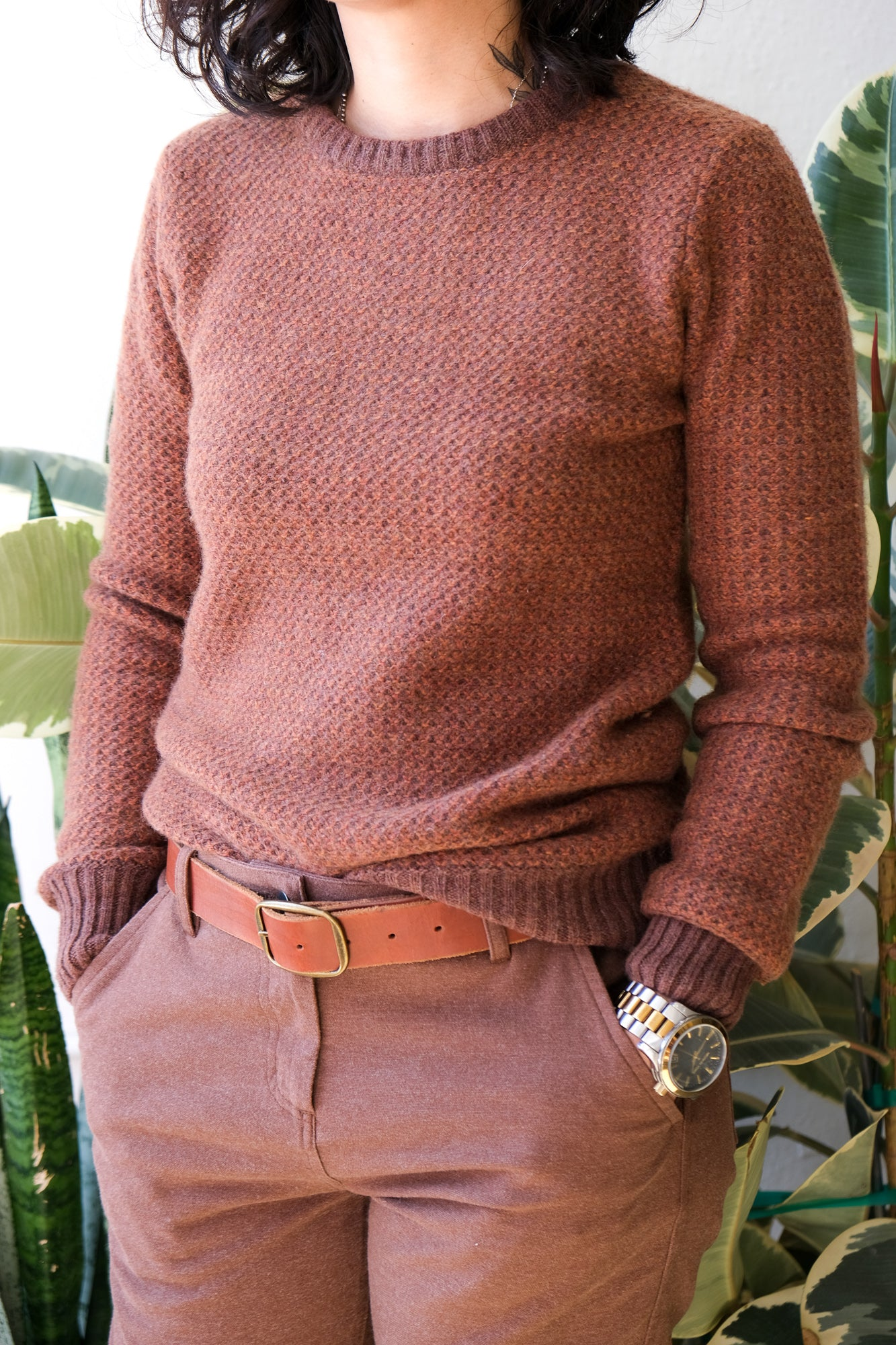 Chelan Sweater in Rust