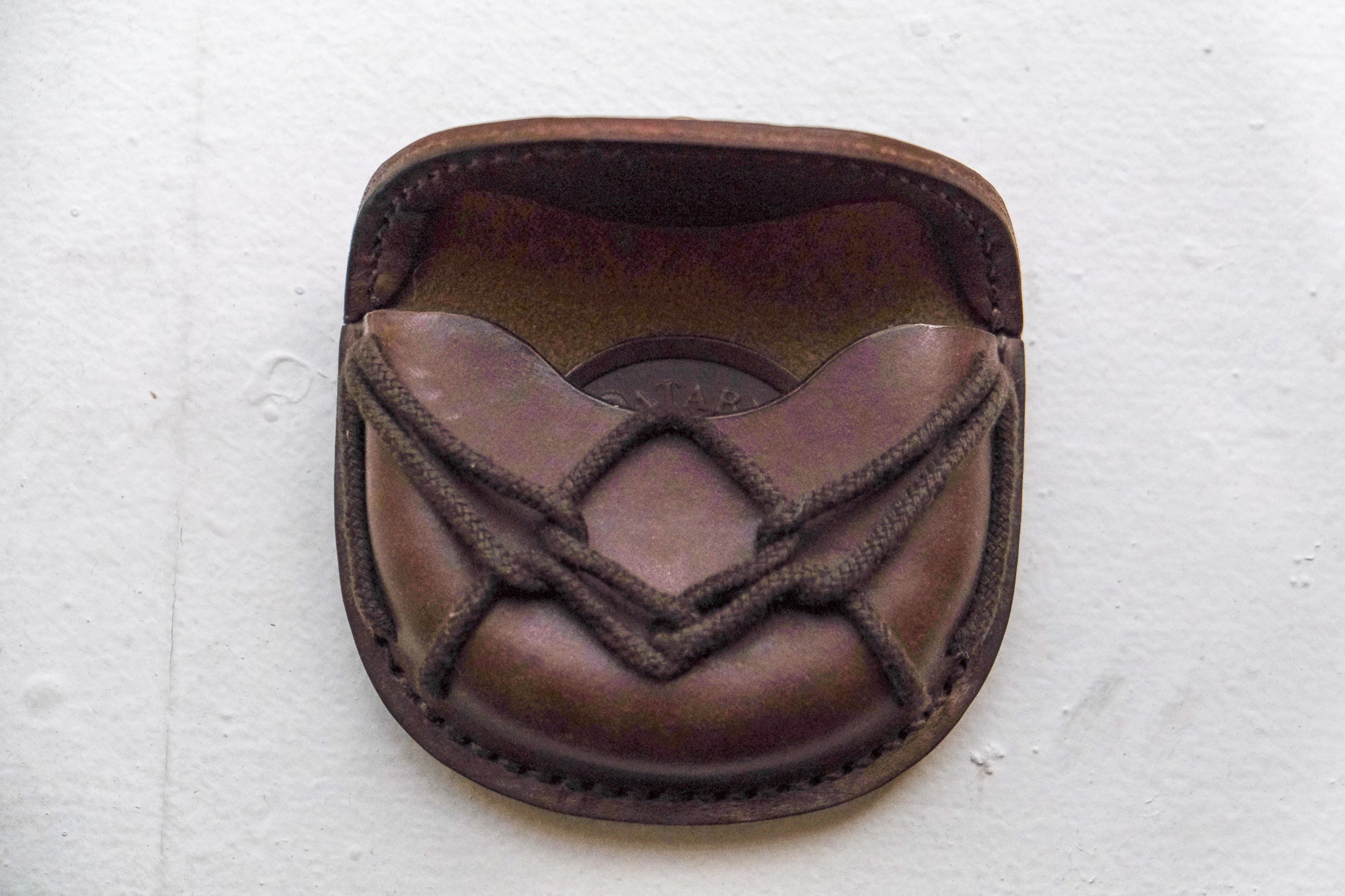 Monkey Money Coin Purse in Brown