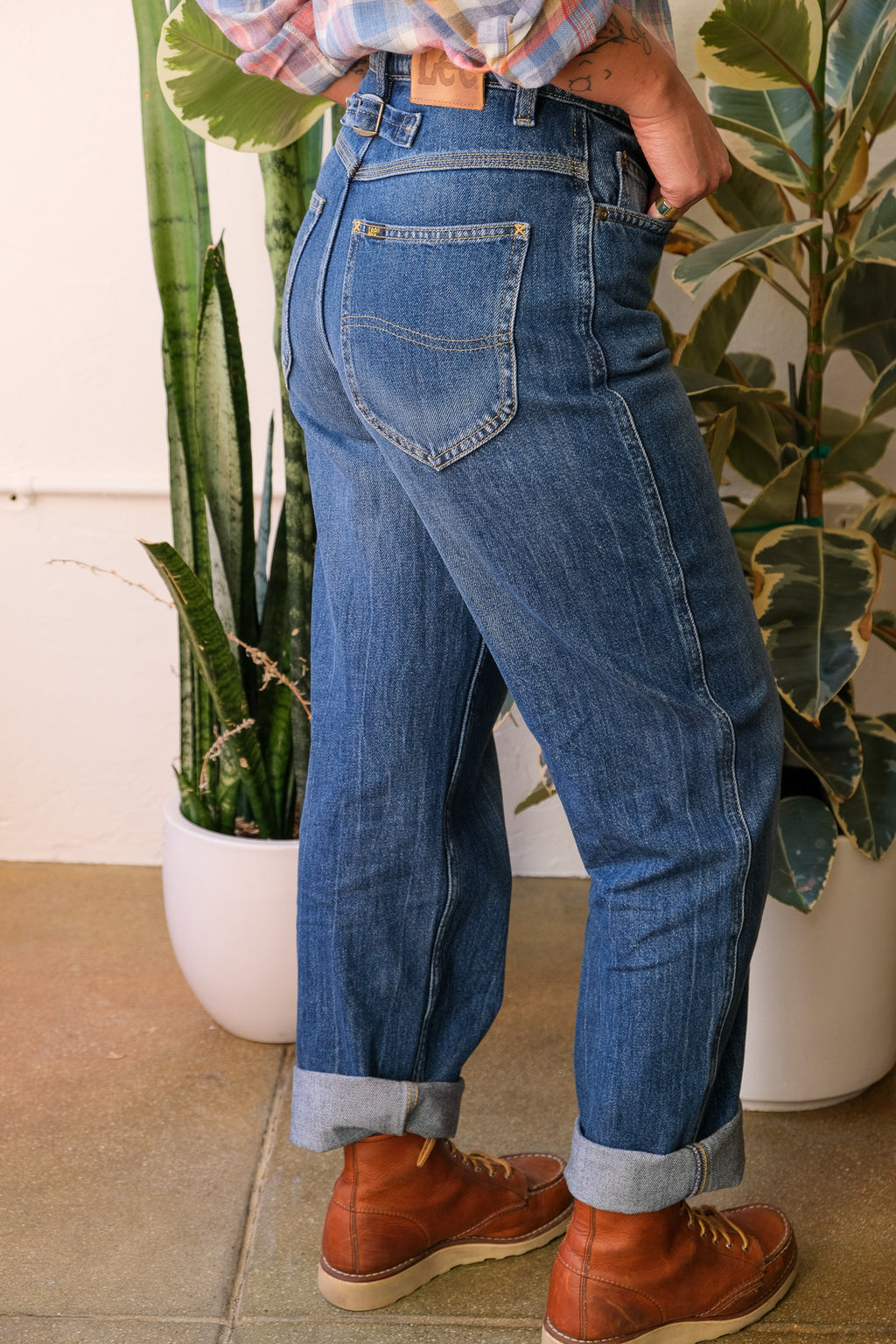 Relaxed Stovepipe Jeans in Kansas Fade