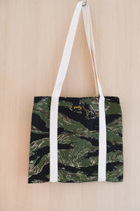 Tote Bag in Tiger Stripe