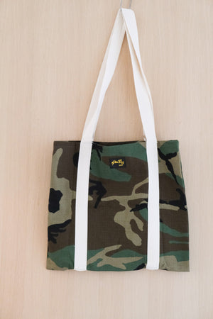 Tote Bag in Woodland Camo