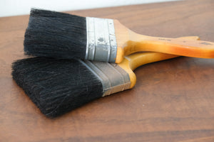 Vintage Paintbrushes (Set of 2)