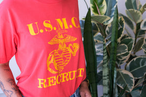 Vintage USMC Recruit T