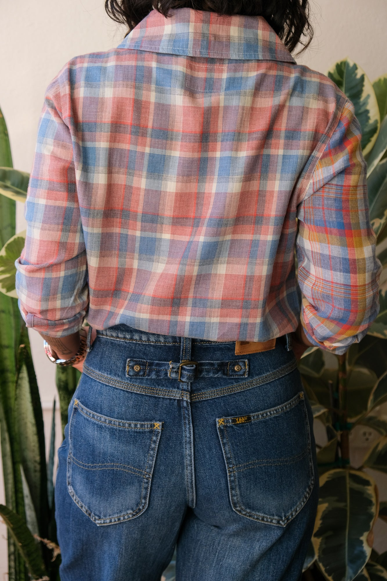 Jamison Shirt in Cotton Plaid