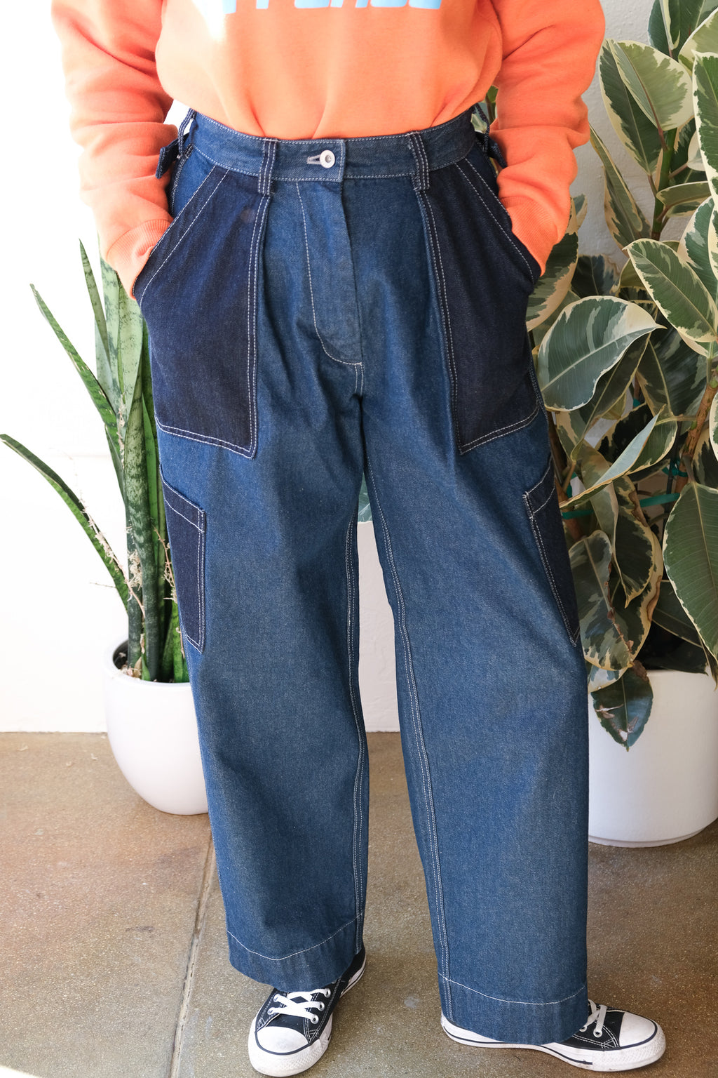 Flight Pants in Indigo
