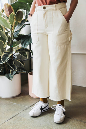 Utility Pants in Natural